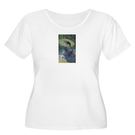 Rose Women's Plus Size Scoop Neck T-Shirt