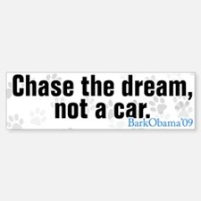 Bark Obama bumper sticker