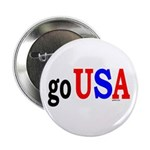 "go USA 2.25"" Button (10 pack)"