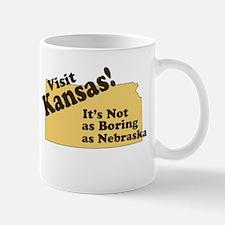 Visit Kansas, Not as Boring a Mug