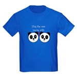 HUG THE ONE YOU'RE WITH Kids Dark T-Shirt