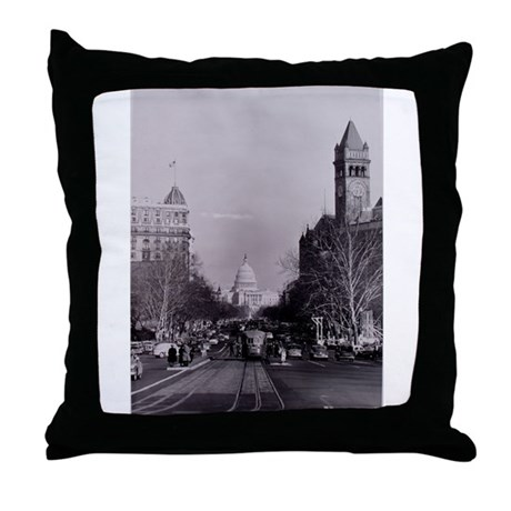 Capitol View Throw Pillow