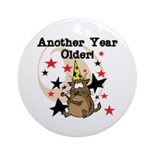 Another Year Older Ornament (Round)