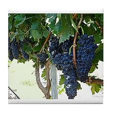 Grape Vine Tile Coaster