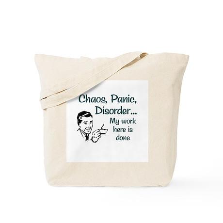 Chaos Panic Disorder Tote Bag