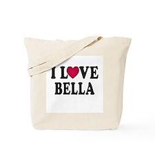 I L<3VE Bella Tote Bag