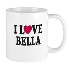 I L<3VE Bella Mug