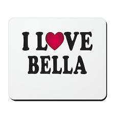I L<3VE Bella Mousepad