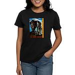 Rastafari - Living in the Light Women's Dark T-Shi
