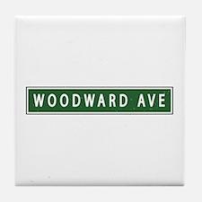 Woodward Ave Tile Coaster