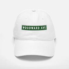 Woodward Ave Baseball Baseball Cap