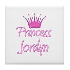 Princess Jordyn Tile Coaster