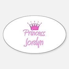 Princess Jordyn Oval Decal