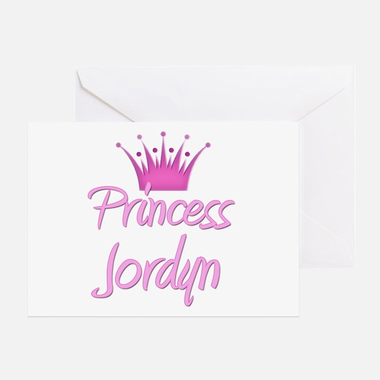 Princess Jordyn Greeting Card