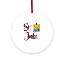 Sir Jordan Ornament (Round)