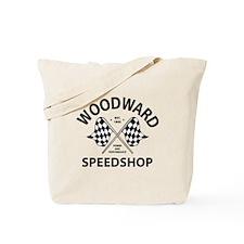 Woodward Speedshop Tote Bag