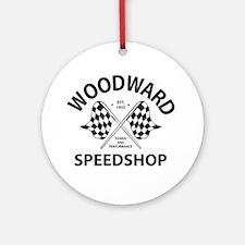 Woodward Speedshop Ornament (Round)