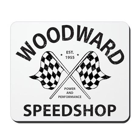 Woodward Speedshop Mousepad