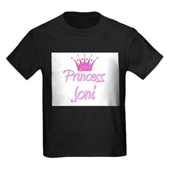 Princess Joni Kids Dark T-Shirt