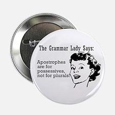 Apostrophes are for Possessiv Button