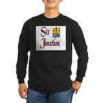 Sir Jonathon Long Sleeve Dark T-Shirt