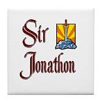 Sir Jonathon Tile Coaster
