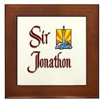 Sir Jonathon Framed Tile