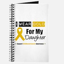 I Wear Gold Daughter Journal