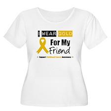 I Wear Gold Friend T-Shirt