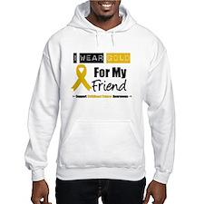 I Wear Gold Friend Hoodie