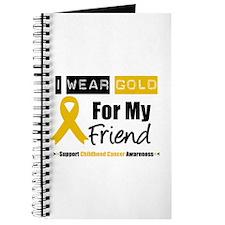 I Wear Gold Friend Journal