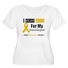 IWearGold Granddaughter T-Shirt