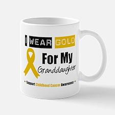 IWearGold Granddaughter Mug