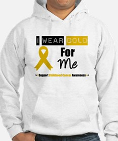 I Wear Gold For Me Hoodie