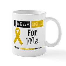 I Wear Gold For Me Mug