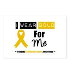 I Wear Gold For Me Postcards (Package of 8)