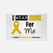 I Wear Gold For Me Rectangle Magnet