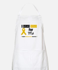 I Wear Gold For Me BBQ Apron