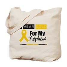 I Wear Gold Nephew Tote Bag