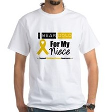 I Wear Gold Niece Shirt