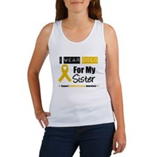 I Wear Gold Sister Women's Tank Top