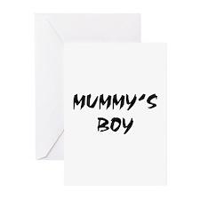 MUMMY'S BOY! Greeting Cards (Pk of 10)