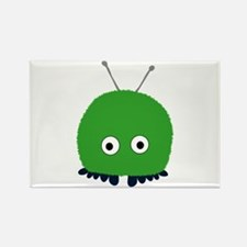 Green Wuppie Rectangle Magnet