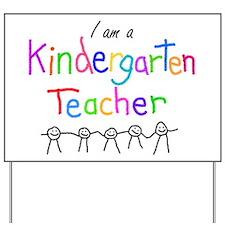 Kindergarten Teacher Yard Sign