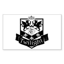 Twilight Symbol Rectangle Decal