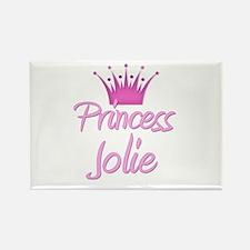 Princess Jolie Rectangle Magnet