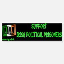 Suport Irish Political Prisoners Bumper Bumper Bumper Sticker