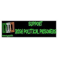 Suport Irish Political Prisoners Bumper Bumper Sticker