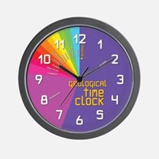 Geological Time Wall Clock