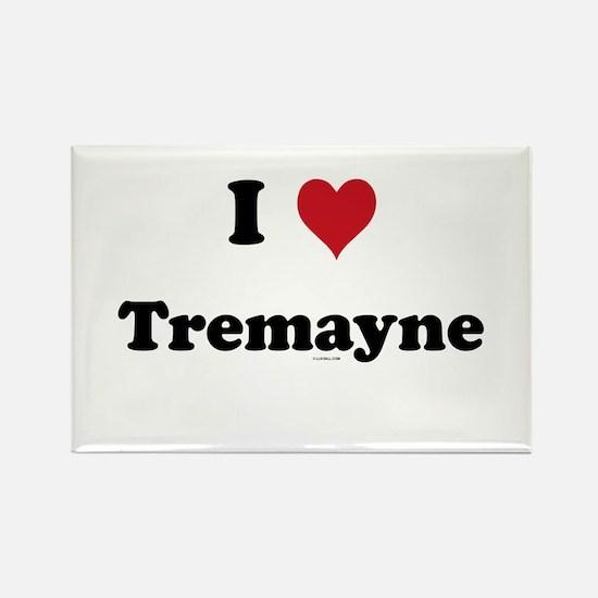 I love Tremayne Rectangle Magnet